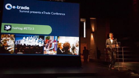 Event Host at the eTrade Conference