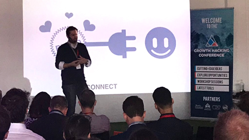 Keynote on Growth Hacking for Marketeers